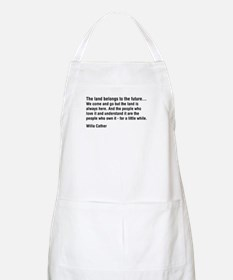 Willa Cather Quotation BBQ Apron