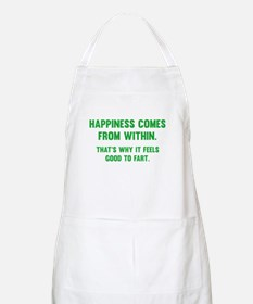 Happiness Comes From Within Apron