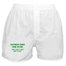 Happiness Comes From Within Boxer Shorts