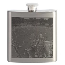 Ottumwa Municipal Swimming Pool Flask