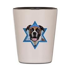 Hanukkah Star of David - Boxer Shot Glass