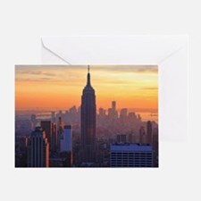 Empire State Building, NYC Skyline,  Greeting Card