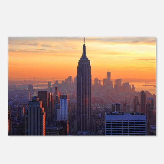 Empire State Building, NY Postcards (Package of 8)