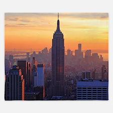 Empire State Building, NYC Skyline, Ora King Duvet