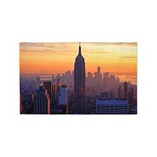 Empire State Building, NYC Skyline, 3'x5' Area Rug