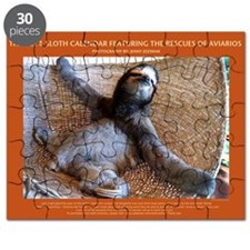 2014 Sloth Calendar Featuring Buttercup on  Puzzle
