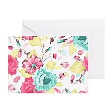 Elegant Flowers Greeting Card