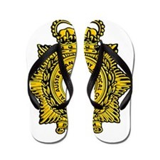 RAAMC badge Flip Flops