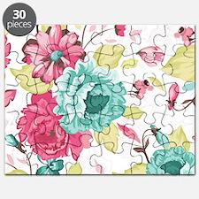 Elegant Flowers Puzzle