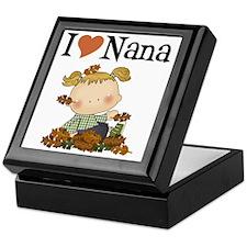 Autumn I Love Nana Keepsake Box