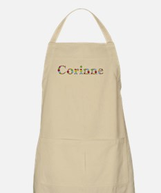 Corinne Bright Flowers Apron