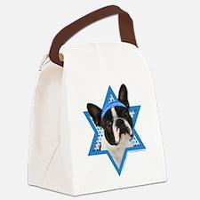 Hanukkah Star of David - Boston Canvas Lunch Bag