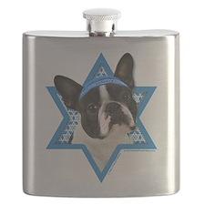 Hanukkah Star of David - Boston Flask