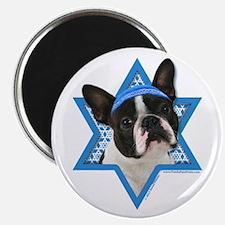 "Hanukkah Star of David - Boston 2.25"" Magnet (10 p"
