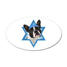 Hanukkah Star of David - Boston Wall Decal