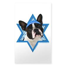 Hanukkah Star of David - Boston Decal