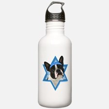 Hanukkah Star of David - Boston Water Bottle