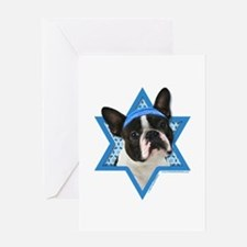 Hanukkah Star of David - Boston Greeting Card