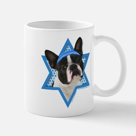 Hanukkah Star of David - Boston Mug