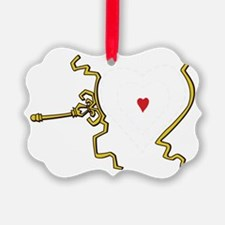 Grinch Heart Grew Two Sizes Ornament