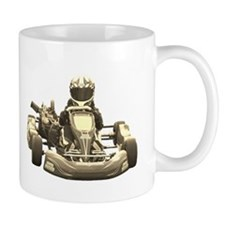 Go Kart Antiqued Mugs
