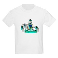 Go Kart inverted color T-Shirt