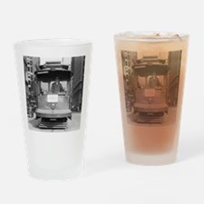 Brooklyn Bridge Trolley Drinking Glass