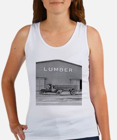 Early Ford Tractor Trailer Women's Tank Top