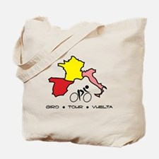 Grand Tour Maps Tote Bag