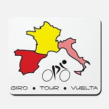 Grand Tour Maps Mousepad
