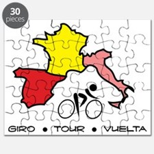 Grand Tour Maps Puzzle