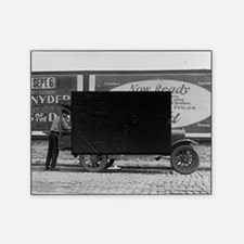 Billboard Company Worker Picture Frame