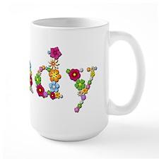 Cindy Bright Flowers Mugs