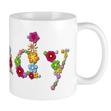 Cindy Bright Flowers Mugs