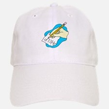 Hand writing HELP! Baseball Baseball Cap