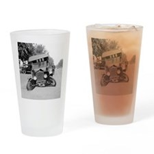Crashed Ford Model T Drinking Glass
