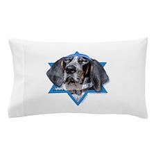 Hanukkah Star of David - Coonhound Pillow Case
