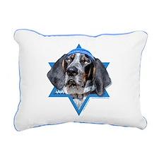Hanukkah Star of David - Coonhound Rectangular Can