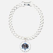 Hanukkah Star of David - Coonhound Bracelet