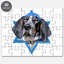 Hanukkah Star of David - Coonhound Puzzle
