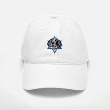 Hanukkah Star of David - Coonhound Baseball Baseball Cap