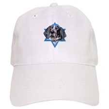 Hanukkah Star of David - Coonhound Baseball Cap