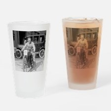 Harley-Davidson Motorcycle Racer Drinking Glass