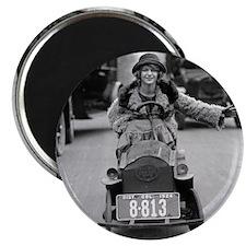 Flapper Driving Pedal Car Magnet