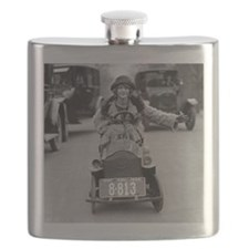 Flapper Driving Pedal Car Flask