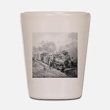 Jupiter and Lake Worth Railroad Shot Glass