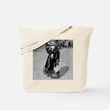 Midget Flapper Girl Tote Bag