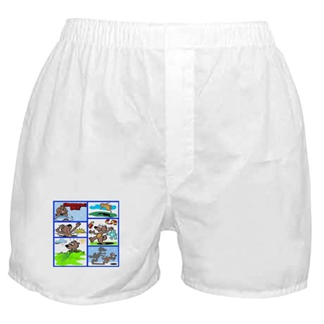 IT'S GROUNDHOG DAY Boxer Shorts