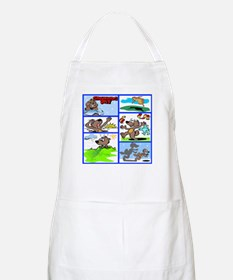 IT'S GROUNDHOG DAY BBQ Apron