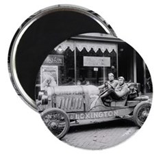 Pikes Peak Champion Race Car Magnet